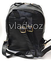 Молодежный модный женский рюкзак подросток девочка черный кот, фото 2