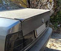 Спойлер лип багажника BMW E34 стекловолокно под покраску