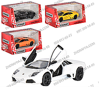 Машинка KT 5317 W, Lamborghini Murcielago LP640, любителям шикарных спортивных автомобилей