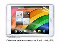 Глянцевая защитная пленка для Acer Iconia A1-830