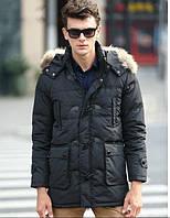 Куртка зимняя на пуху для полных мужчин, XL-8XL размер