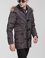 Куртка зимняя на пуху для крупных мужчин, XL-8XL размер