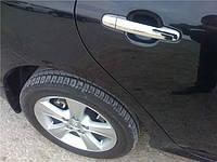 Накладки на ручки WELLSTAR Toyota Corolla 02-12 / Auris 07-12 / Camry 30 02-06 / Rav-4 00-05 / Yaris 05-12 / Hilux 05-12 / Terios 06- хромированный