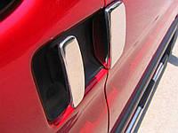 Накладки на ручки Citroen Berlingo 1996-2007 (нержавеющая сталь) 3 шт.