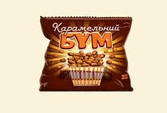 """Крекер """"Карамельный Бум"""" в шоколадной глазуре 70 г"""