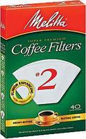 Фильтр-пакет бумажный для кофе Melitta AZ белый 1*2 (40 шт.)