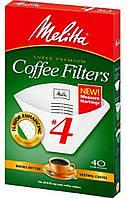 Фильтр-пакет бумажный для кофе Melitta AZ2012 белый 1*4 (40 шт.)