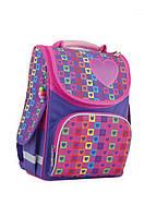 Ранец школьный каркасный  для девочки  Rainbow, фото 1