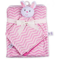Luvable Friends  в комплекте с салфеткой для девочек (50446.BP.F)