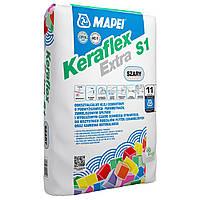 Клей Мапей Керафлекс Экстра С 1 Белый высокоэластичный клей для плитки и камня мешок 25 кг