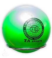 Мяч художественной гимнастики D-19см .(зелёный)