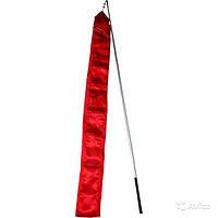Лента гимнастическая (Цвет: красный)