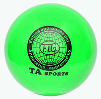 """Мяч для художественной гимнастики """"TA Sport"""" Диаметр 15 см SP27027."""
