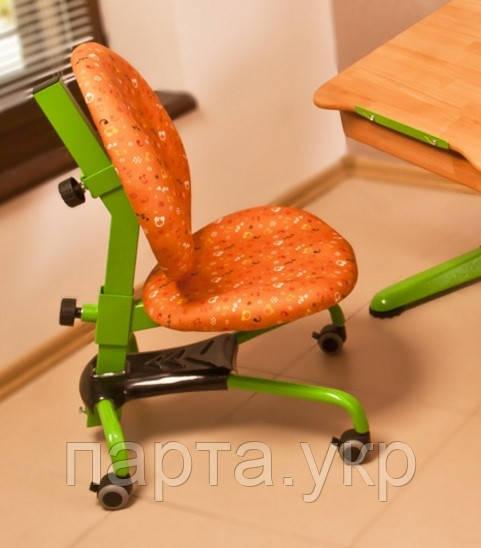 Кресло школьнику ортопедическое Нотки (оранж)