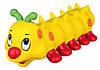 Игрушка Trixie Caterpillar для собак латексная, c пищалкой, 26 см