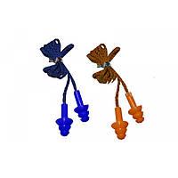 Беруши для ушей PL-3003 (силикон, цвета в ассортименте)