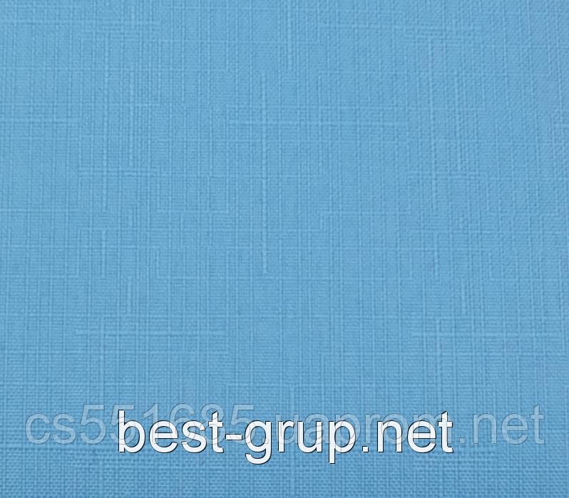 MSF-082 Блакитна мрія (0,575 х 1,70 м) Linen ( Льон) -тканинні ролети Oasis Оазис