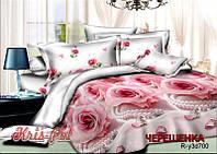 Семейный набор хлопкового постельного белья из Ранфорса №183700 KRISPOL™