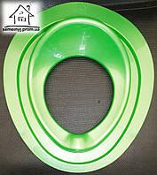 Детское сиденье (накладка) на унитаз Н006 (зеленое)