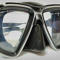 Маска для плавания с дыхательным клапаном. Маска для плавання. SP14062.