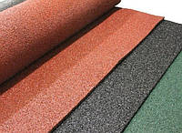 Резиновый коврик 1500х700х10 ярко-оранжевый, фото 1