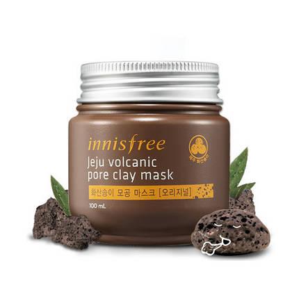 Суперочищающая маска для проблемной кожи Innisfree Jeju Volcanic Pore Clay Mask, 100 мл, фото 2