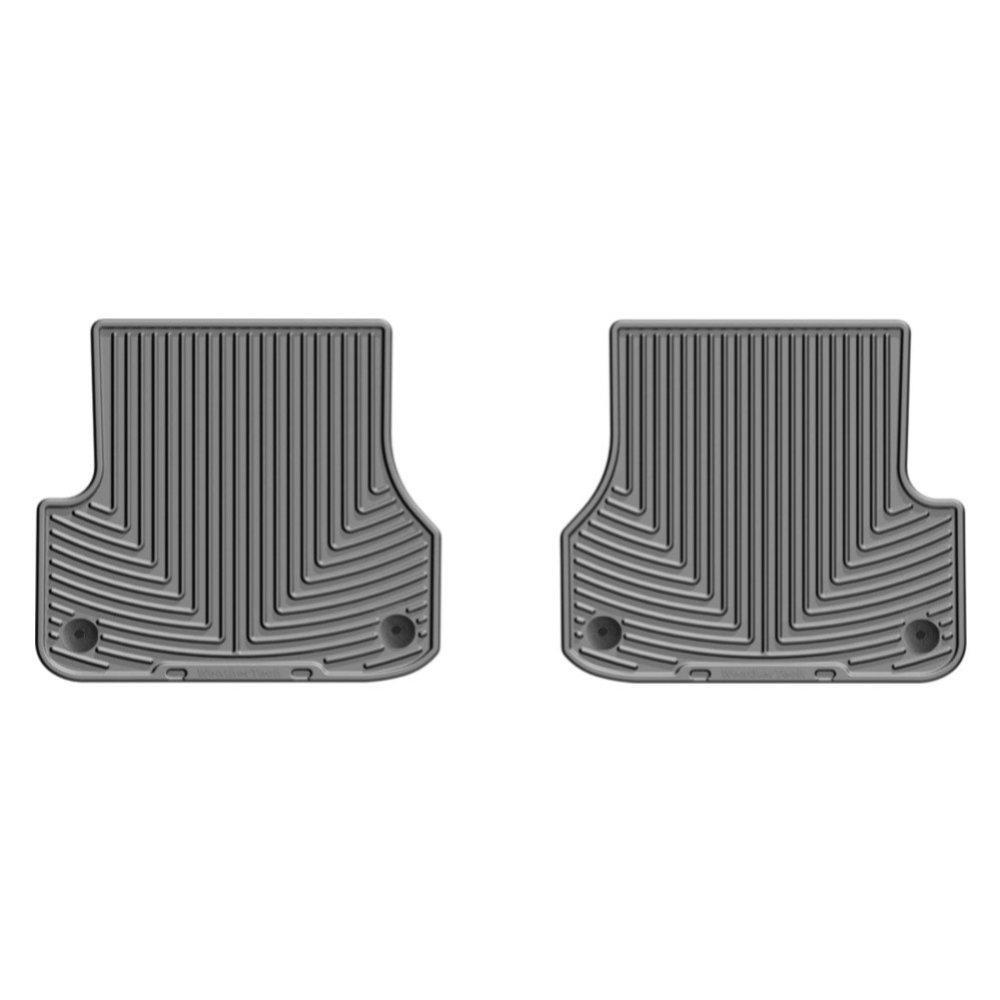 Килимки в салон для Audi A6 2012 - задні сірі W301GR