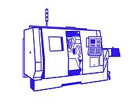 Токарные станки с ЧПУ с наклонной станиной