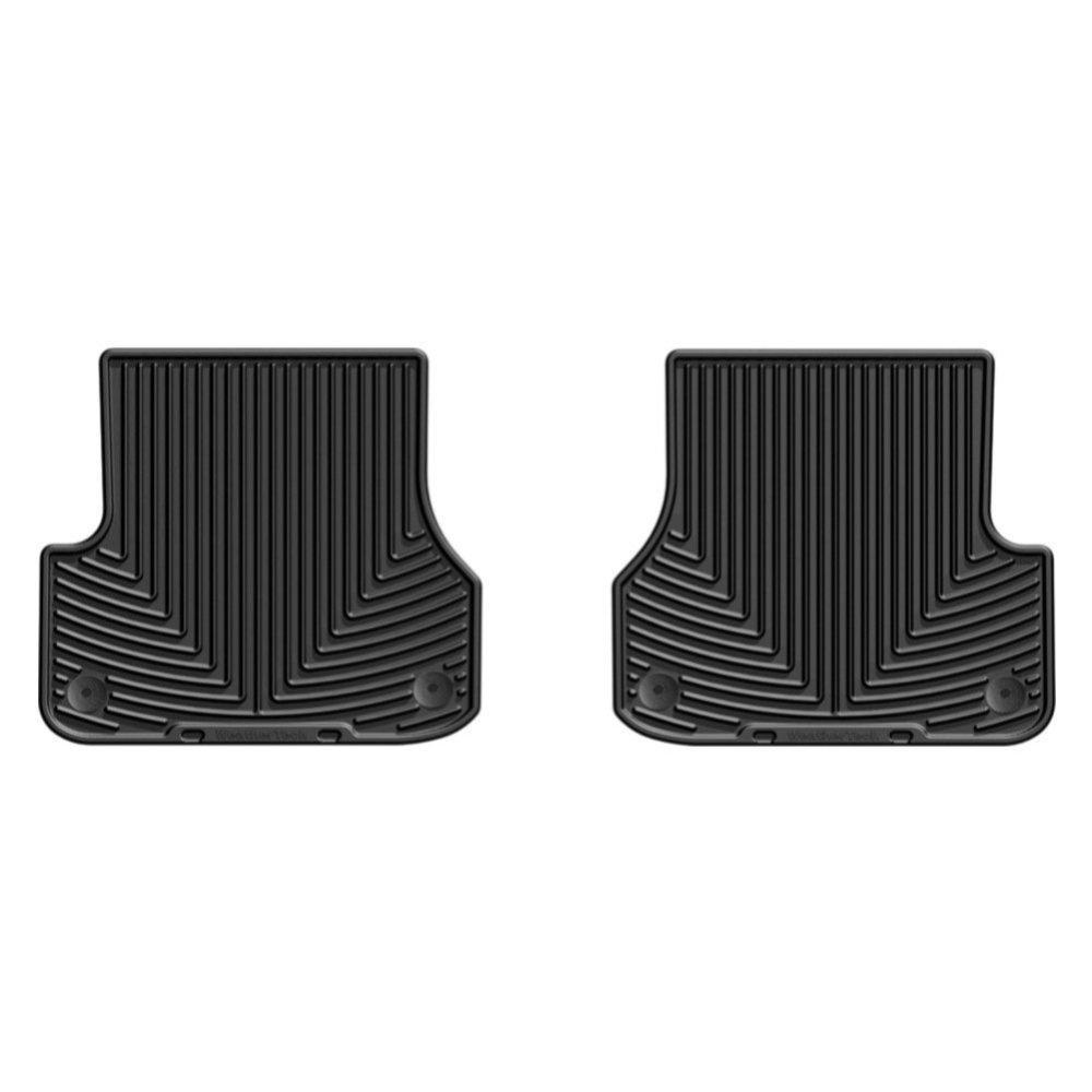 Коврики в салон для Audi A6 2012- задние черные W301