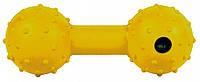 Гантель Trixie Dumbbell для собак резиновая, с пищалкой, 12 см, фото 1