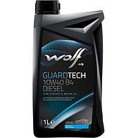 Моторное масло Wolf GUARDTECH 10W-40 B4 DIESEL 1 л