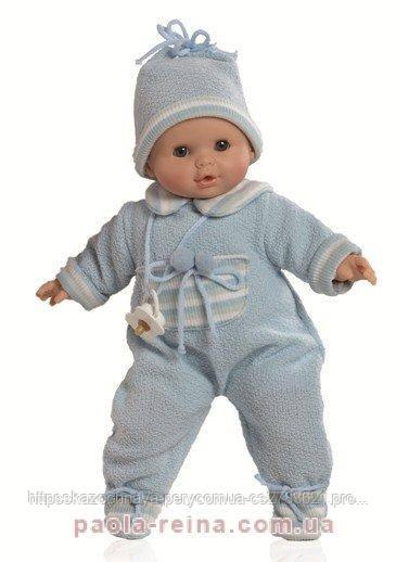 Озвучена лялька Алекс в теплому одязі 08013, 36 см