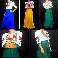 """Шикарное платье в национальном стиле """"Цветочный бал"""", габардин, 40-54 р-ры, 850\790 (цена за 1 шт. + 60 гр.)"""