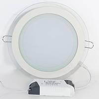 Светодиодный врезной светильник GL-Rim Downlight (Круглый) 6 W, фото 1