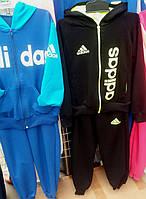 Детские спортивные хлопчатобумажные костюмы из двух нитки для мальчиков и девочек  возрастом 6-7-8-9 лет S1975