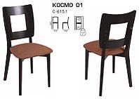Деревянный стул C-615.1 Космо 01 дизайнерская мебель, цвет венге, Заказ от 2 штук