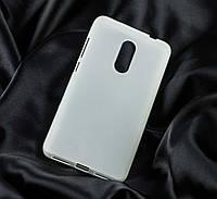 Чехол для Xiaomi Redmi Note 4x силиконовый бампер белый / прозрачный