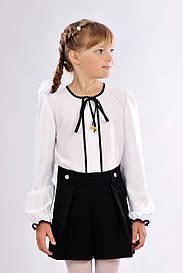 Черные шорты-юбка для школы 804-2