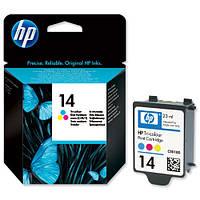Струйный картридж HP №14 Color (Цветной) (C5010DE)