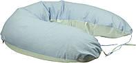 Подушка для беременных и кормления с наволочкой Руно, голубая