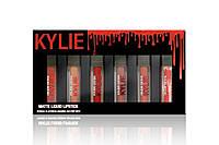 Жидкая помада Kylie Matte liquid Lipstick Rouge a Levres(упаковка черная с красным)