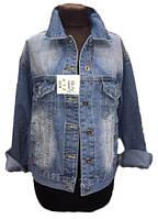 Джинсовая куртка женская на пуговицах (деми)
