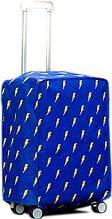 Удобный чехол для среднего чемодана Traum 7015-08, синий