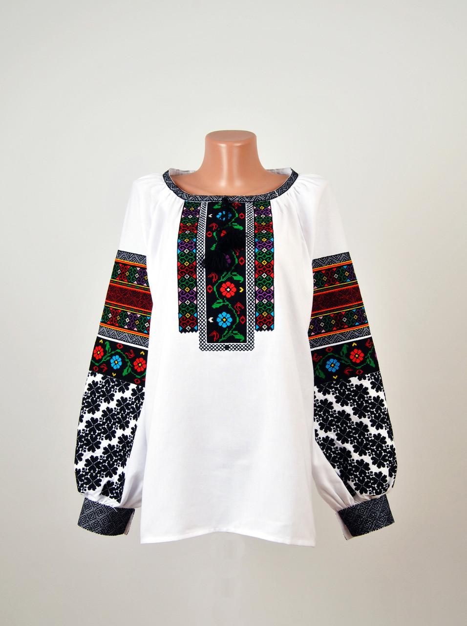 e78c3375a33852 Жіноча вишиванка борщівка з якісною машинною вишивкою - Інтернет-магазин  вишиванок для всієї сім'