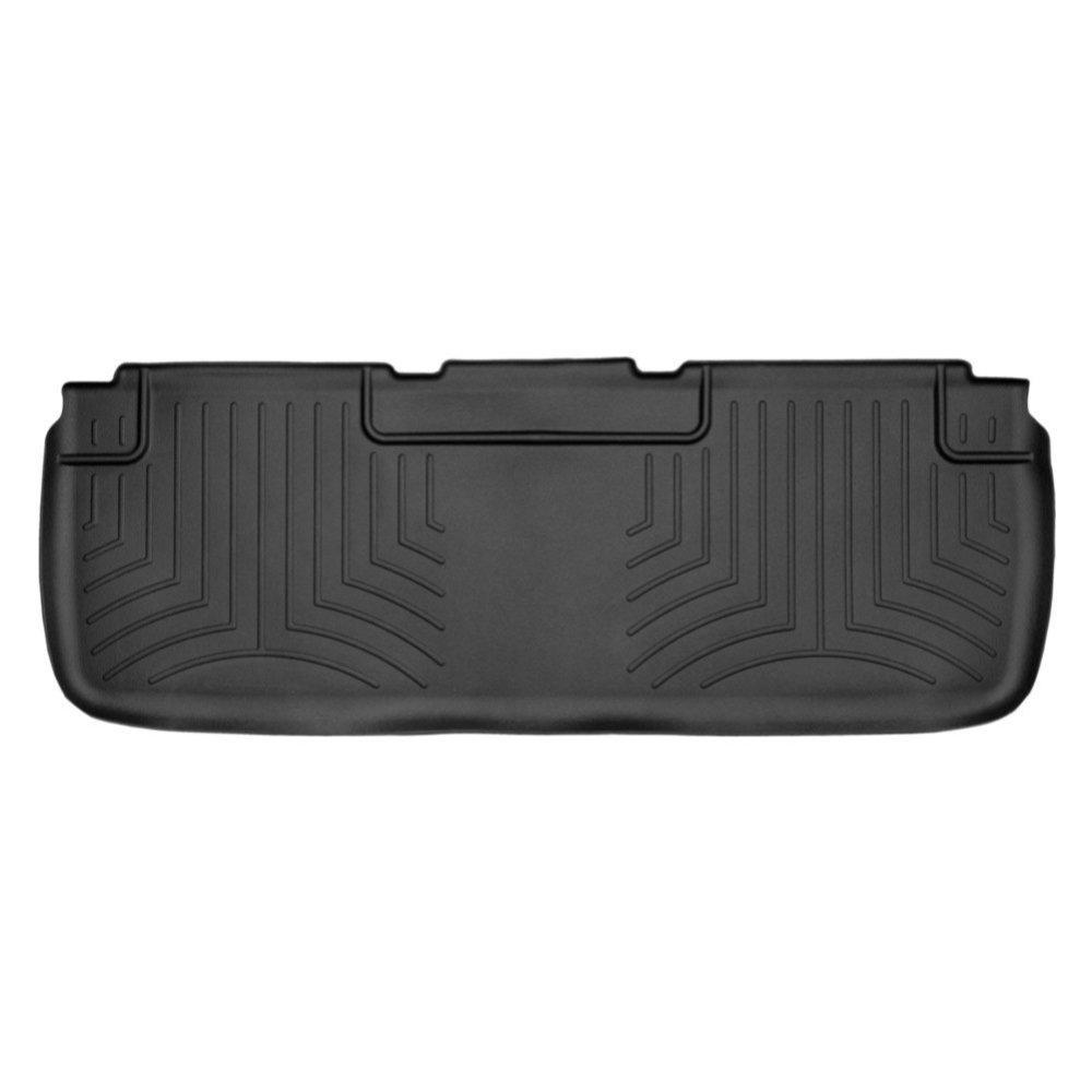 Задні килимки Tesla Model S 2012- c бортиком чорні 444582 WeatherTech