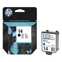 Струйный картридж HP №14 Black (Черный) (C5011DE)