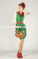 Платье с национальными орнаментами