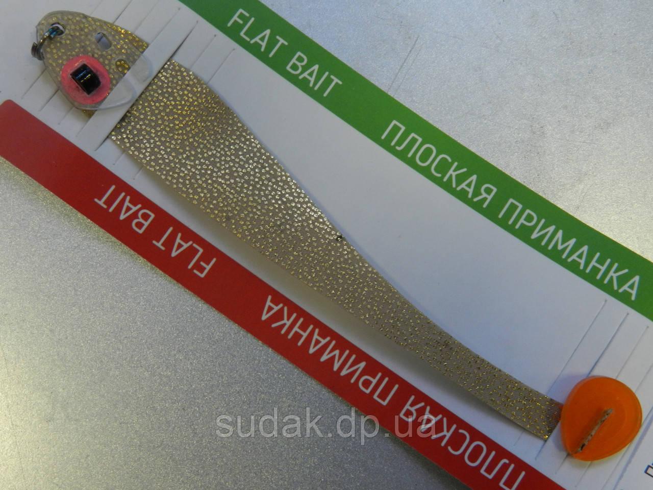 Приманка плоская Asmak SHAD 12 sm песочный