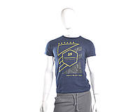Мужская футболка темно-синяя, фото 1