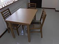 Стол обеденный (дерево) для кухни, столовой «Явир М»   РПМК